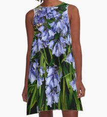The native bluebell A-Line Dress