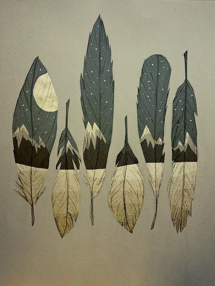 The Birds of Winter by MaiaWalczak