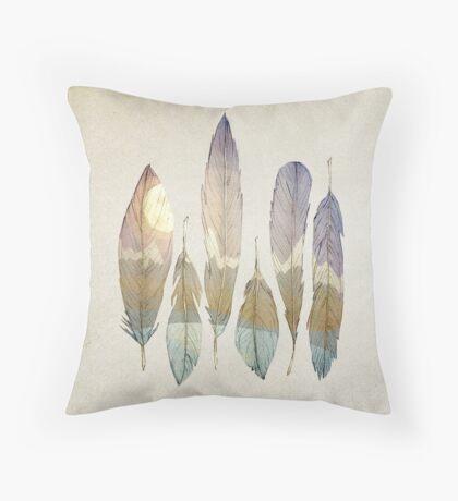 Mountain Birds Throw Pillow