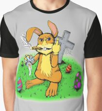 Scumbag Easter Bunny 1.1 Graphic T-Shirt
