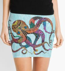 Electric Octopus Mini Skirt