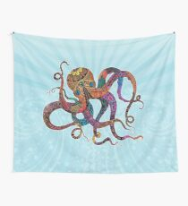 Electric Octopus Wall Tapestry