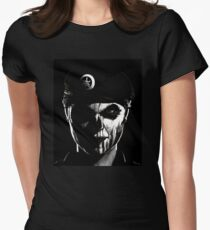 """""""Im coming for you"""" Womens Fitted T-Shirt"""