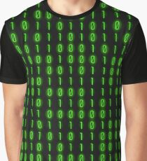 Binary Code Inside Graphic T-Shirt