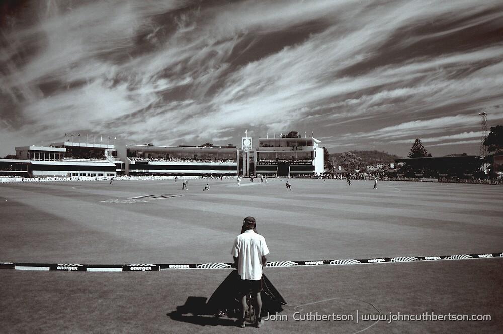 International Cricket, Bellerive Oval by John  Cuthbertson   www.johncuthbertson.com