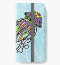 Electric Jellyfish iPhone Wallet/Case/Skin