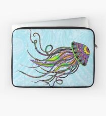Electric Jellyfish Laptop Sleeve