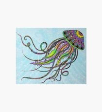 Electric Jellyfish Art Board