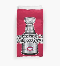 Montreal Canadiens NHL Playoffs Duvet Cover