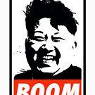 Kim Jong Un BOOM by Thelittlelord