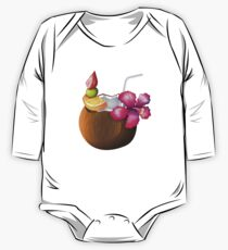 Summer coconut cocktail One Piece - Long Sleeve