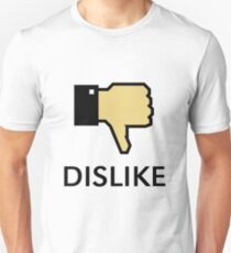 Dislike (Thumb Down) Unisex T-Shirt