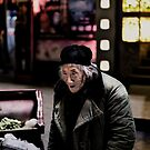 Homeless man by Matthew Bonnington