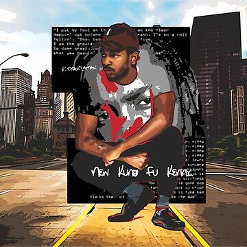 NEW KUNG FU KENNY - Kendrick Lamar by evaldaspx