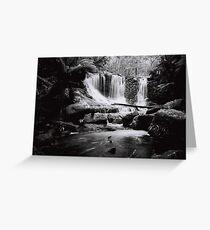 Horseshoe Falls, Mount Field National Park Greeting Card