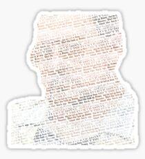 Shomer Shabbos Sticker
