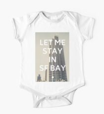 San Francisco (Let Me Stay in SF Bay) One Piece - Short Sleeve