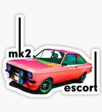 mk2 Ford Ecsort T Sticker