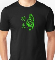 Kung Fu Palm Strike Green Featherscale T-Shirt