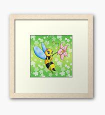 Alya and the 4 seasons - spring Framed Print