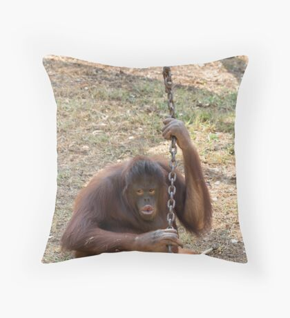 Kissy Kissy Throw Pillow