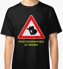 Photographer at Work Classic T-Shirt