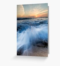 The Oceans Edge Greeting Card