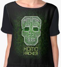 Homo Hacker Chiffon Top