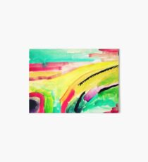 Colorful Abstract Painting in WaterColor Art Board