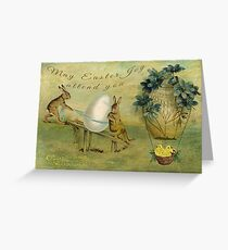 May Easter Joy Attend You Greeting Card