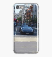 London - Oxford Street - Lamborghini  iPhone Case/Skin