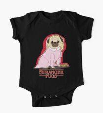 Stranger Pugs - Eleven One Piece - Short Sleeve