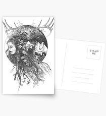 Beltane Postcards