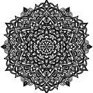 Mandala BnW by jordygraph