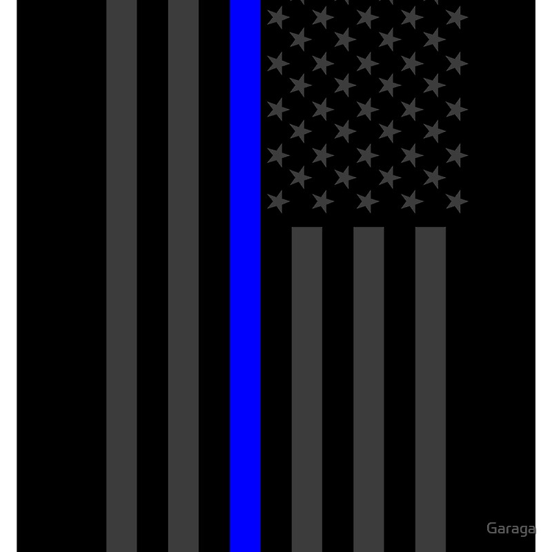 Photo Collection Thin Blue Line Background