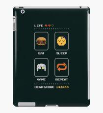 Eat Sleep Spiel wiederholen iPad-Hülle & Klebefolie