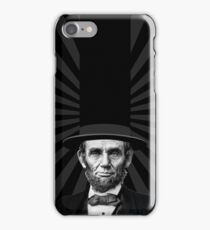 Abraham Lincoln Presidential Fashion Statement iPhone Case/Skin