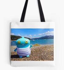 Babo's seaside vacation Tote Bag