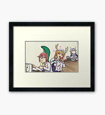 Dragon Maid Framed Print