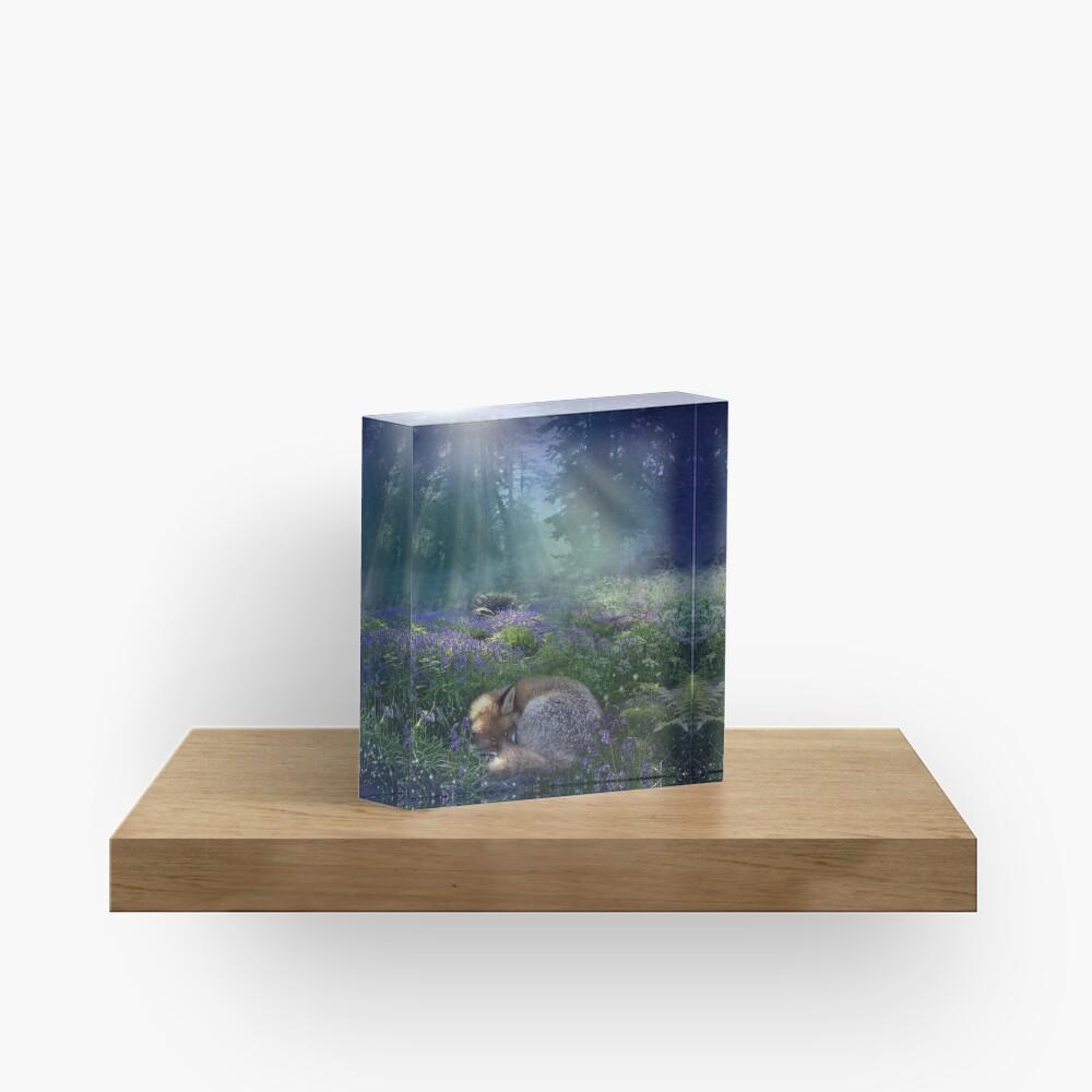 Bluebell Dawn Acrylic Block