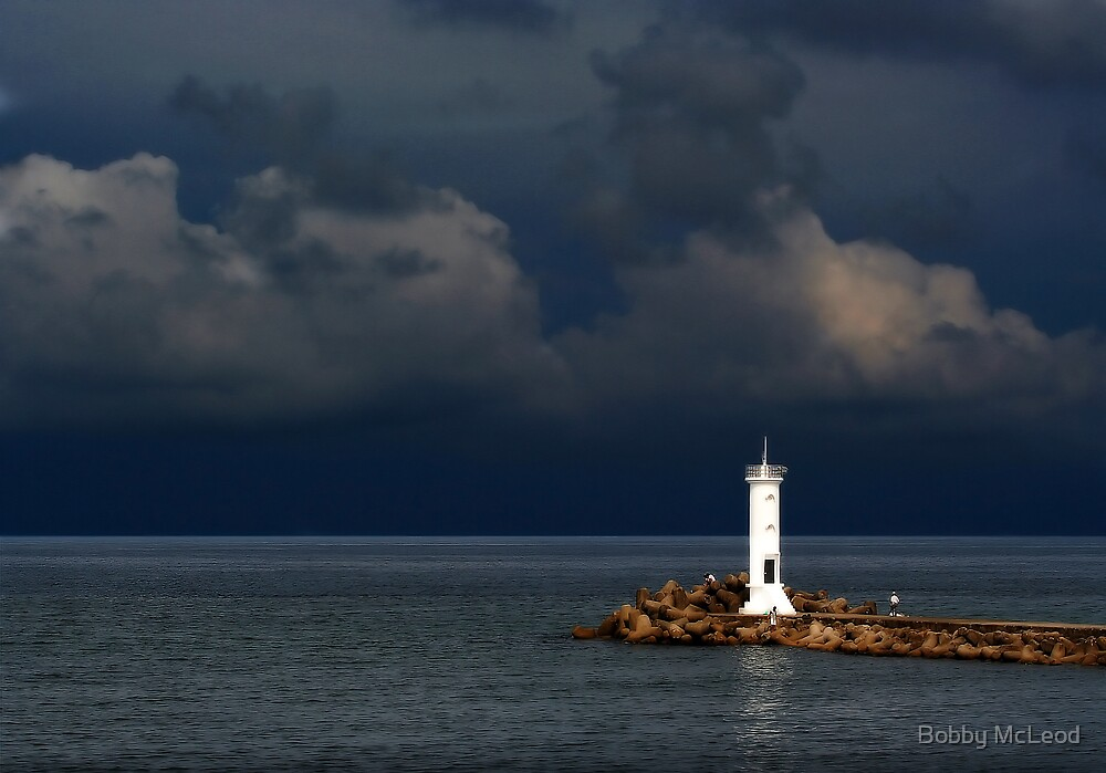Approaching Storm by Bobby McLeod