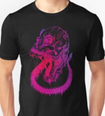 Skull of a Marked Pink Beast T-Shirt