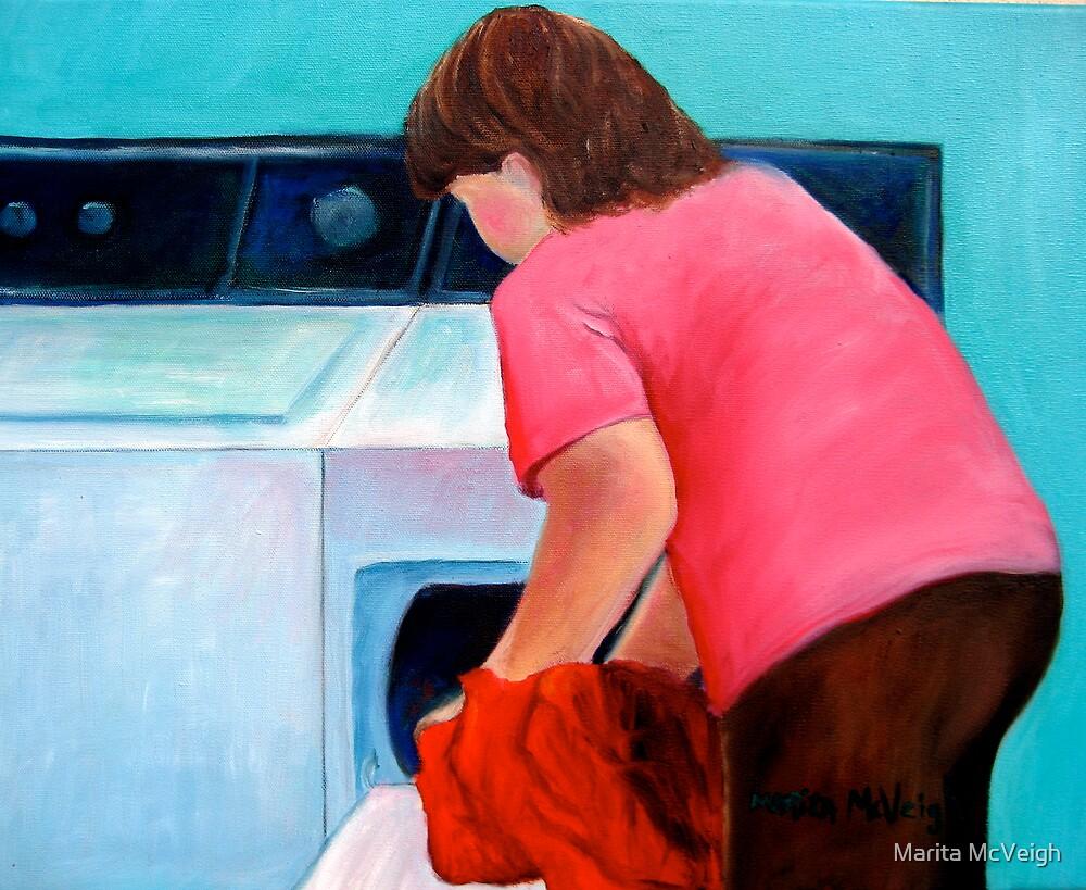 Self Portrait by Marita McVeigh