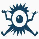 Eye Ball Cyclops Cartoon Creature by Zehda