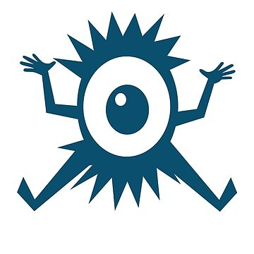 Eye Ball Cyclops Cartoon Creature by Zehda