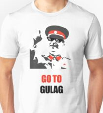 Stalin - Go to Gulag Unisex T-Shirt
