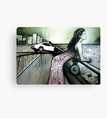 Little Fast car Canvas Print