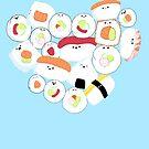«Lindo Sushi!» de jennisney