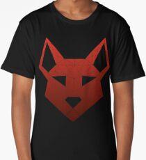 "Geometric Canine - ""Lust"" Inverted Long T-Shirt"