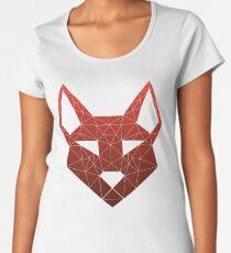"Geometric Canine - ""Lust"" Inverted Women's Premium T-Shirt"